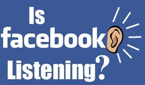 is facebook listening graphic